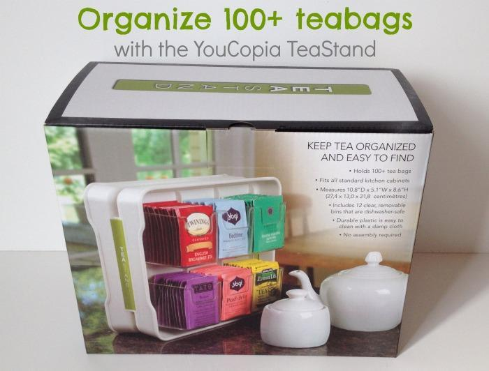Organize 100+ Tea Bags with the YouCopia TeaStand
