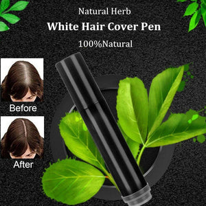 Natural Herbs - White Hair Cover-Up Stick
