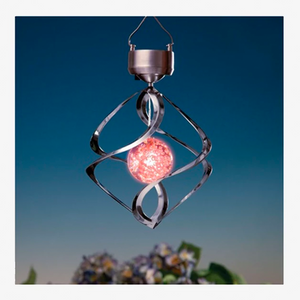 LED Color Changing Solar Light – Add a Colorful Wind Chime to Your Place!