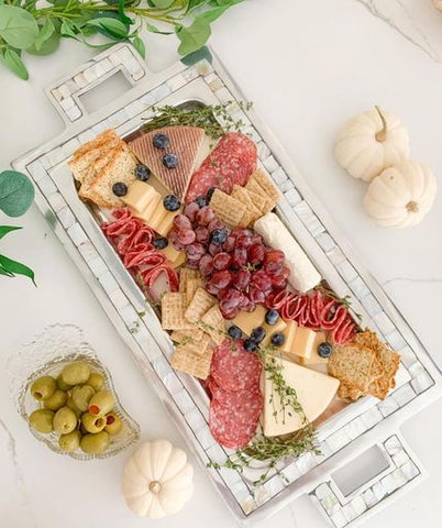 Classic Serving Tray with Handles