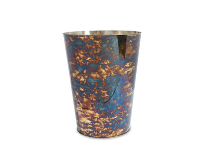 "Cascade 11"" Waste Basket Rainbow Bronze"