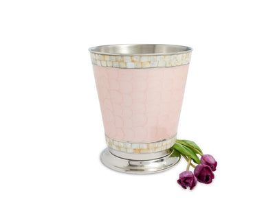 "Classic 9.75"" Waste Basket Pink Ice"