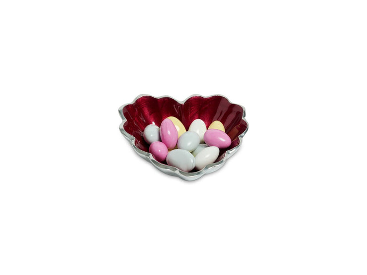 "Heart 4"" Bowl Pomegranate"