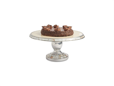 "Classic 14"" Cake Stand Snow"