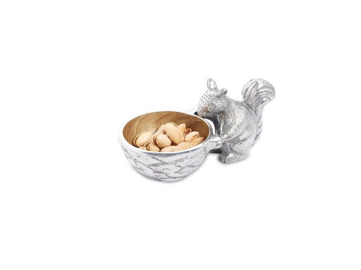 "Squirrel 3"" Bowl Toffee"