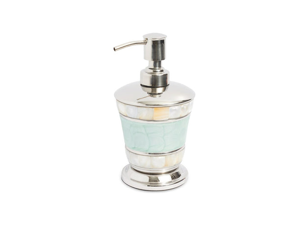 "Classic 7"" Soap/Lotion Dispenser Aqua"