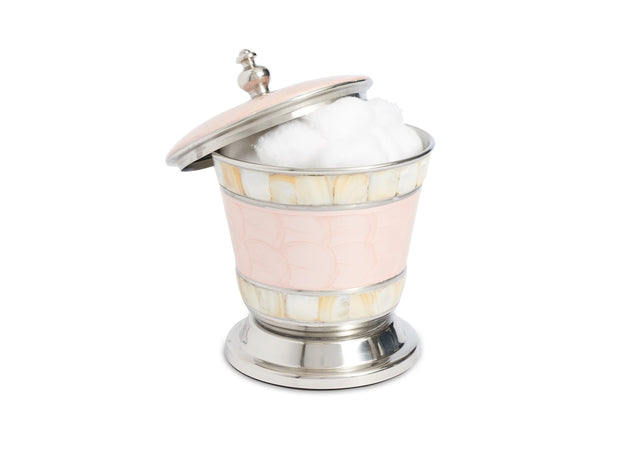 "Classic 5.5"" Covered Canister Pink Ice"