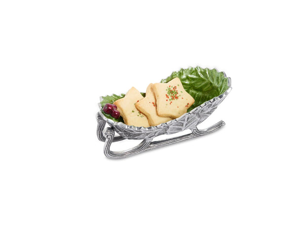 "Holly Sprig 8"" Sleigh Bowl Mojito"