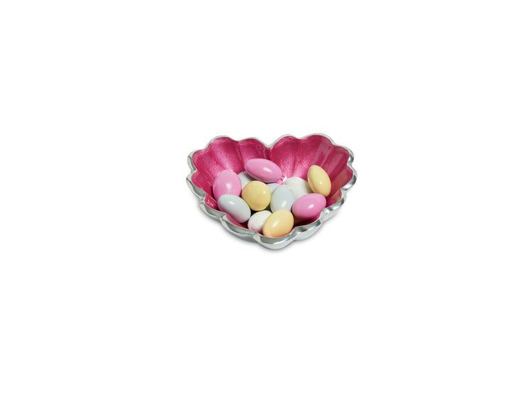 "Heart 4"" Bowl Raspberry"
