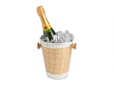 "Classic 8"" Ice Bucket/ Wine Chiller Toffee"