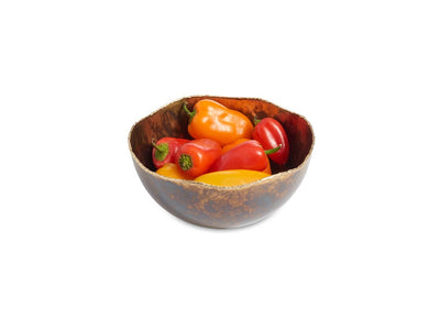 "Cascade 6"" Bowl Rainbow Bronze"