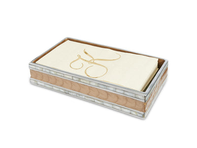 "Classic 9"" Guest Towel Tray Toffee"