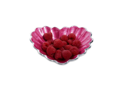 "Heart 7"" Bowl Raspberry"