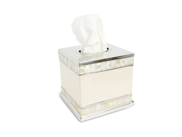 "Classic 5"" Tissue Cover Snow"
