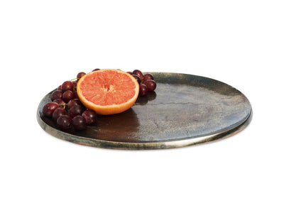 "Eclipse 15"" Platter Steel Blue"