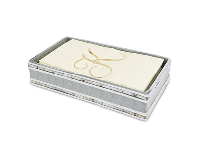 "Classic 9"" Guest Towel Tray Platinum"