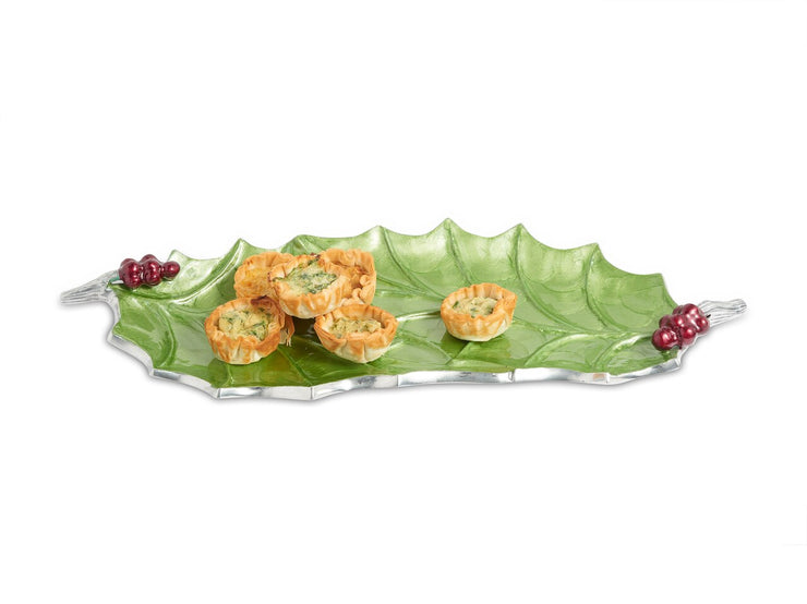 "Holly Sprig 16"" Tray Mojito"