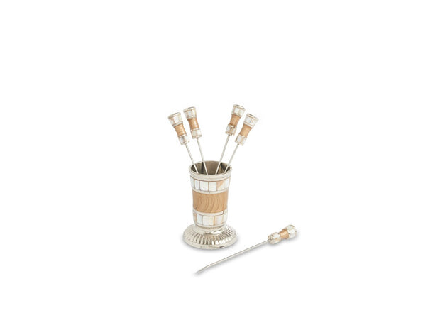 Classic Cocktail Pick Set Toffee