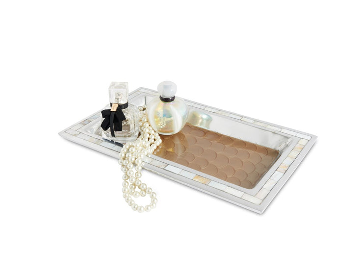 "Classic 12"" Vanity Tray Toffee"