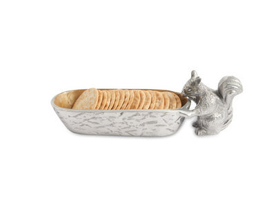 "Squirrel Cracker 9.75"" Tray Toffee"
