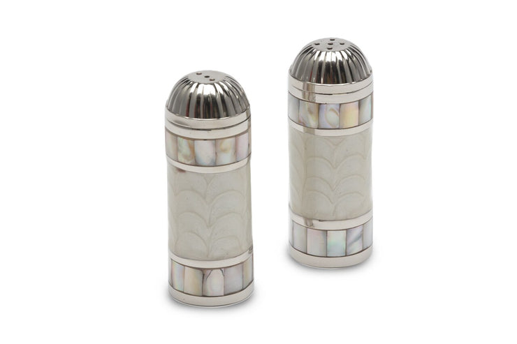 "Classic 3.5"" Salt & Pepper Set Snow"