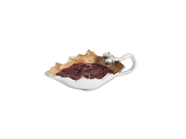 Oak Leaf Sauce Boat Toffee