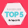 Top 5 Flavors for the Week of 6/29/18