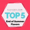 Top 5 Flavors For the End of Summer