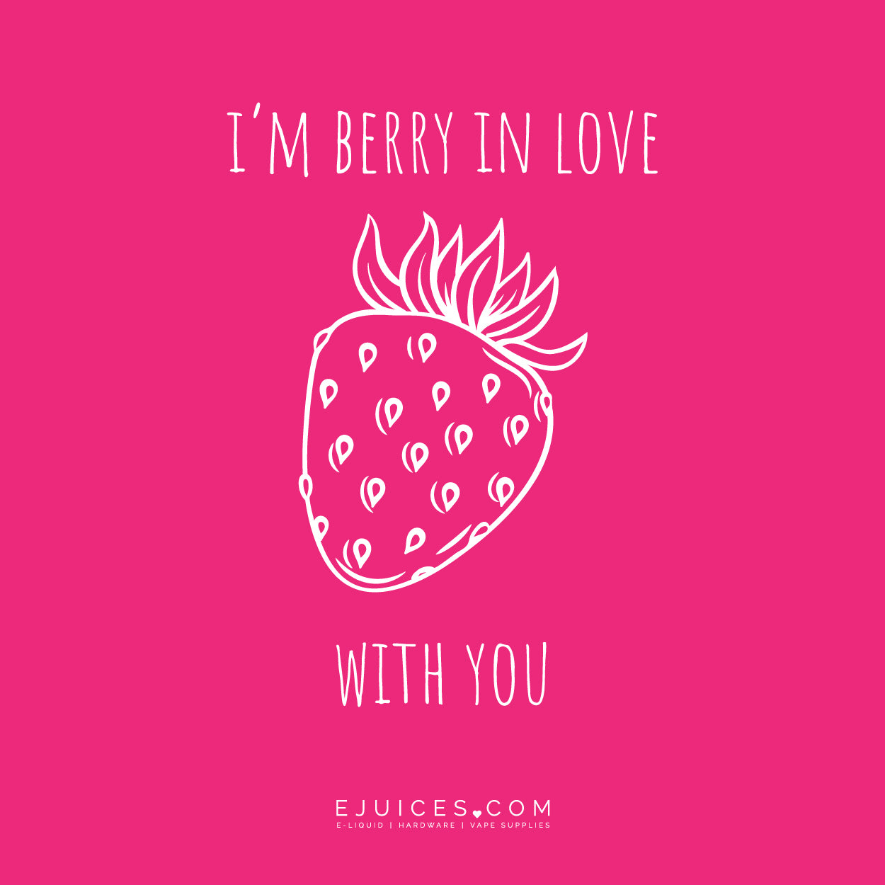 I'm berry in love with you