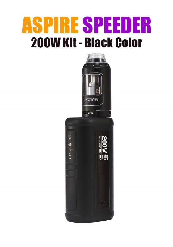 Aspire Speeder 200W Kit - Black