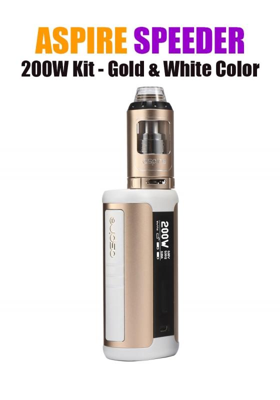 Aspire Speeder 200W Kit - Gold & White