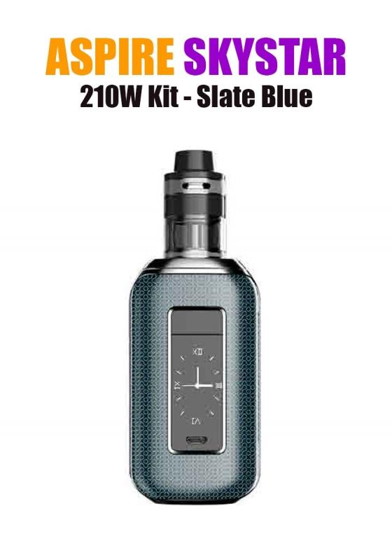 Aspire SkyStar Revvo Kit (210W 3.6ML 0.10/016ohm) - Slate Blue