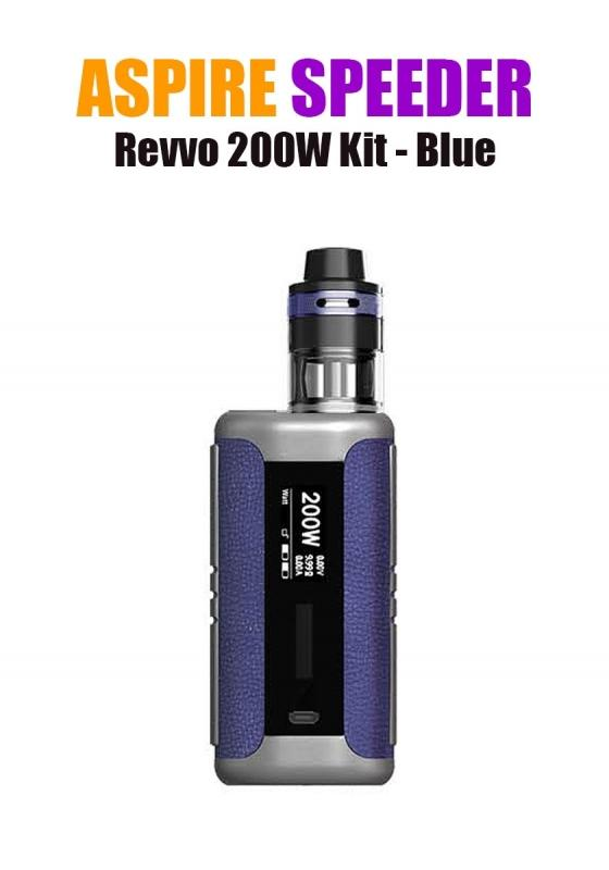 Aspire Speeder Revvo Kit (200W 3.6ML 0.10/0.16ohm) - Blue