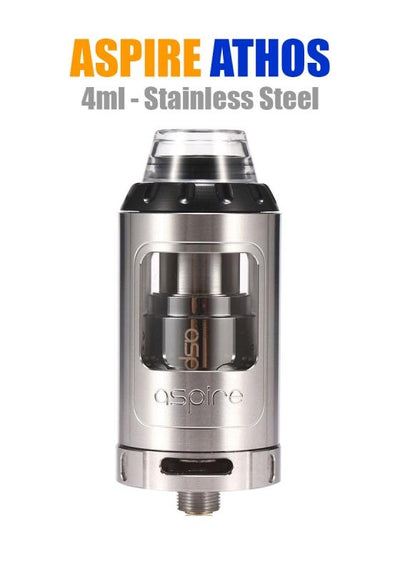 Aspire Athos Tank-Hardware-Aspire Vape Co.-Stainless Steel-eJuices.com