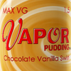 Max VG Vapor Pudding - Chocolate Vanilla Swirl-eJuice-Vapor Pudding-eJuices.com