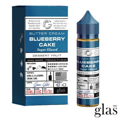 Basix Series by Glas E-Liquid - Blueberry Cake-eJuice-Basix Series by Glas E-Liquid-eJuices.com