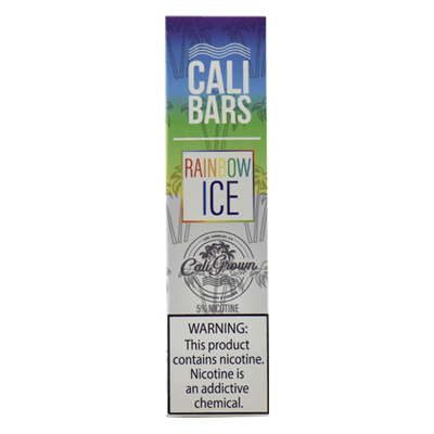 Cali Bars - Disposable Vape Device - Rainbow Ice-Hardware-Cali Bars-Single-50mg-eJuices.com