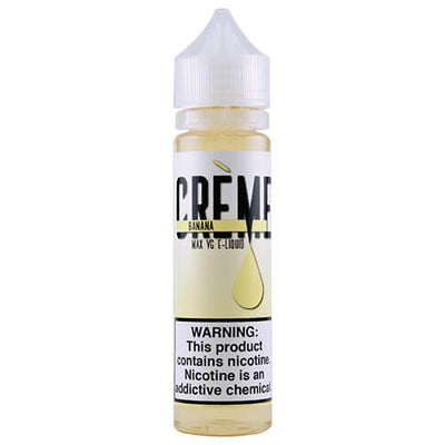Crème E-Liquid - Banana Creme-eJuice-Creme-60ml-0mg-eJuices.com