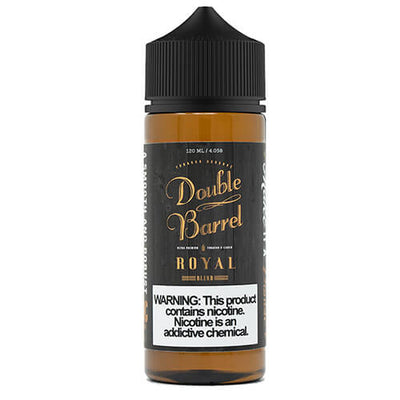 Double Barrel Tobacco Reserve - Royal-eJuice-Double Barrel Tobacco Reserve-120ml-0mg-Plastic-eJuices.com
