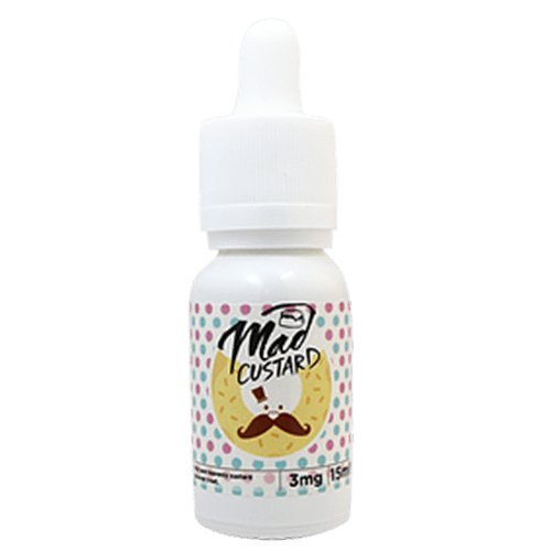 Mr. Doughnut E-Juice - Mad Custard - 90ml (6x15ml) / 12mg