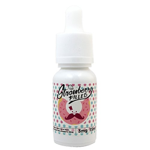 Mr. Doughnut E-Juice - Strawberry Filled - 90ml (6x15ml) / 12mg