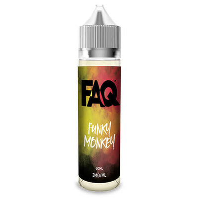 FAQ Vapes - Funky Monkey-eJuice-FAQ-60ml-0mg-eJuices.com