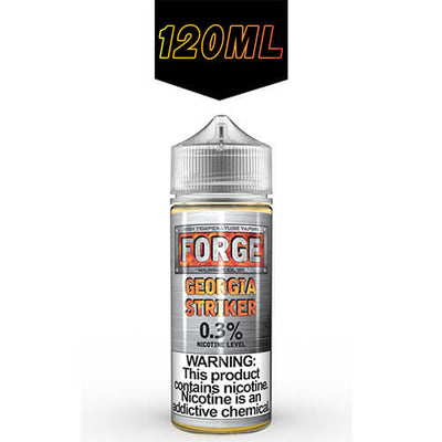 Forge Vapor eLiquids - Georgia Striker-eJuice-Forge Vapor-120ml-0mg-eJuices.com