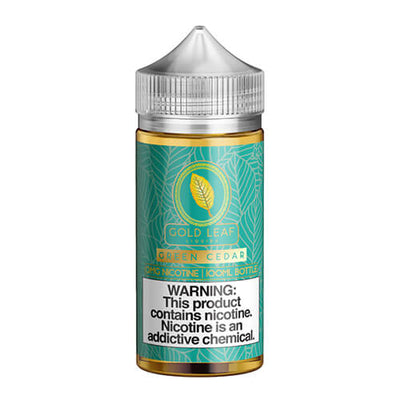 Gold Leaf Liquids - Green Cedar-eJuice-Gold Leaf Liquids-eJuices.com