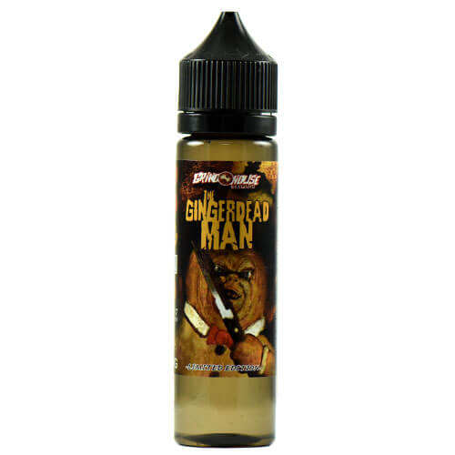 Grindhouse eLiquid - The Gingerdead Man (Seasonal) - 120ml / 3mg