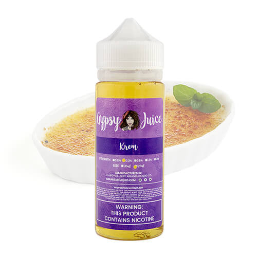 Gypsy Juice - Krem - 120ml / 0mg
