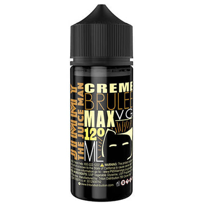 Jimmy The Juice Man - Creme Brulee-eJuice-Jimmy The Juice Man-120ml-3mg-eJuices.com