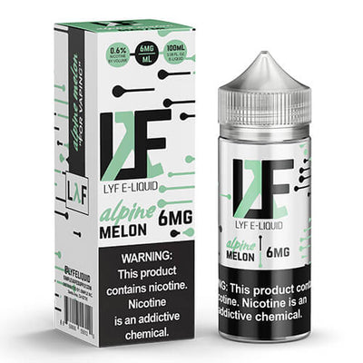 LYF E-Liquid - Alpine Melon-eJuice-LYF E-Liquid-100ml-6mg-eJuices.com