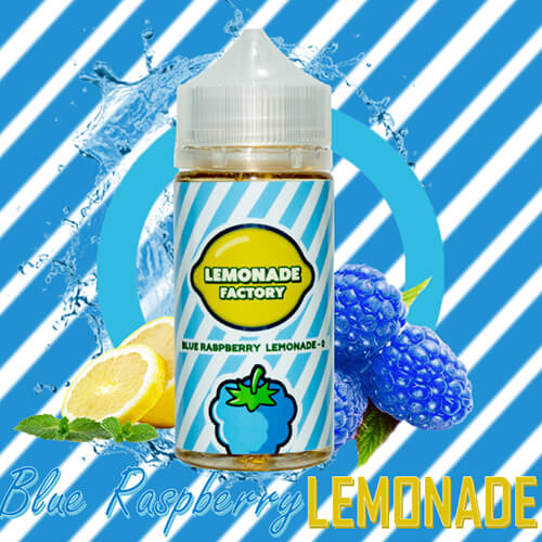 Lemonade Factory eJuice - Blue Raspberry Lemonade - 100ml / 0mg