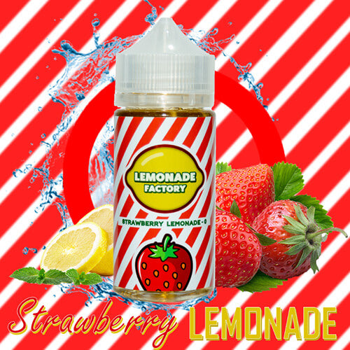 Lemonade Factory eJuice - Strawberry Lemonade - 100ml / 0mg